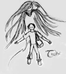 Trevain Sketch by InkedSilver