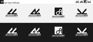 dA logo to contest by Silence-sk