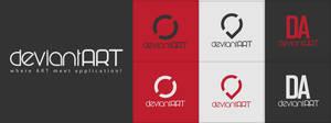 dA logo third set by Silence-sk