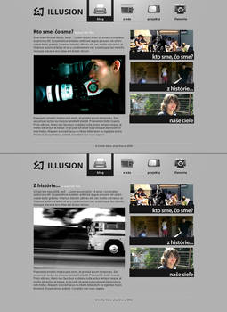 Illusion webdesign by Silence-sk
