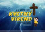 Kvetny vikend '09 plagat by Silence-sk