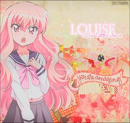 Louise - Cute Tsundere by Usamiiart