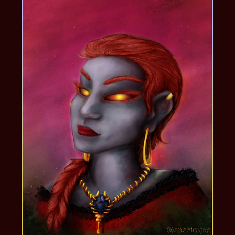 Valeinna the Dark Iron for Renascia by spectrafae