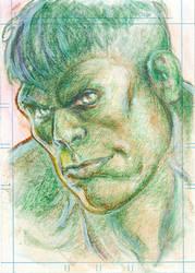 Hulk by bpisek