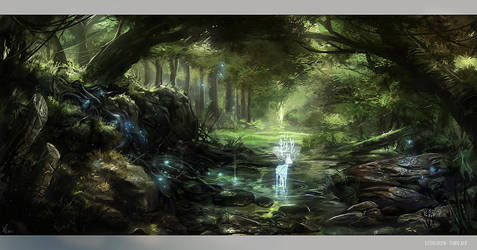 Lothlorien by Fealasy