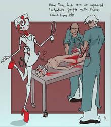Nurse Lokupmeskirt by Fealasy