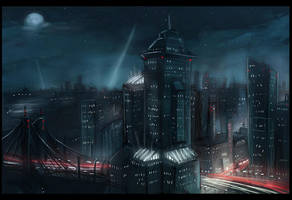 City Scape by Fealasy