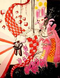 Bunny Bondage by Fealasy