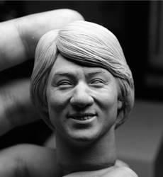 Jackie Chan custom sculpt by iminime