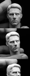 Tom Cruise sculpt by iminime