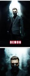 Demon figure by iminime