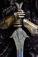 Elven Sword, The Elder Scrolls Skyrim craft by WhiteDemon19