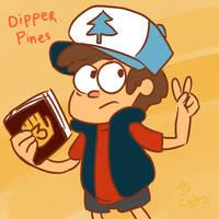 Dipper Pines - Gravity Falls by BizarreAdventures