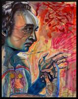Portrait of John Cazale--70s Poster Boy by Sarahfina-Rose