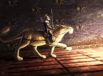 Babylonian Warrior by hari64
