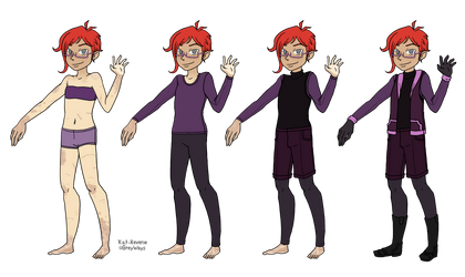 Character sheet - Clive by kat-reverie