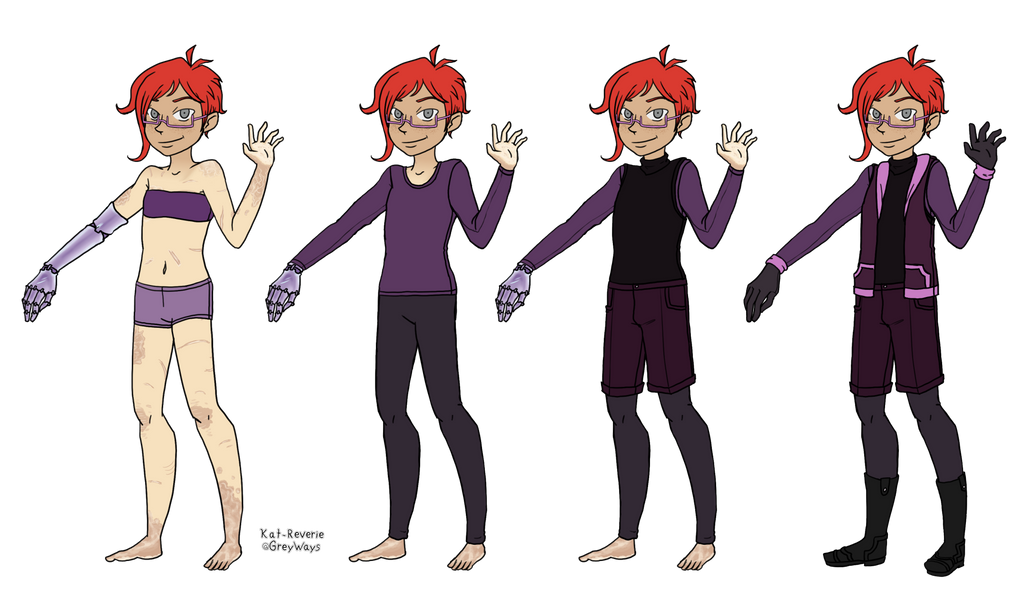 Character Sheet - Clive UPDATE by kat-reverie