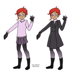 Reference - Clive's nice winter outfit by kat-reverie