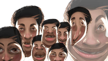 Create Awesome Caricatures in Adobe Illustrator by HumanNature84