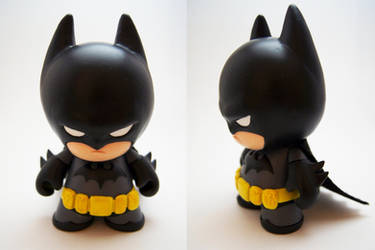 Batman Mini Munny by xf4LL3n