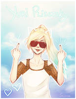 YoI: Yuri Plisetsky - I'm on vacation, b****** by SC01se