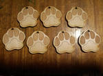 Wood Paws by HowlingWolfSong