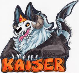 Badge - Kaiser by HowlingWolfSong