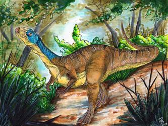 Chilesaurus by HowlingWolfSong