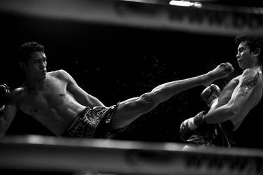 Muay Thai by EllinorBergman