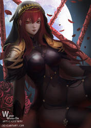 Fate/Grand Order - Scathach by lee989y
