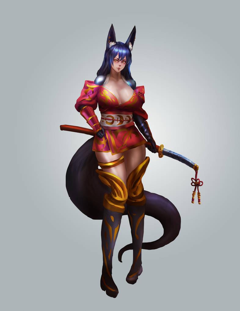 FOXgirl by lee989y
