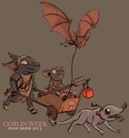 Farmy Goblin(s) by devilevn
