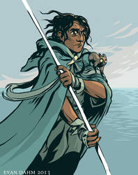 A Wizard of Earthsea by devilevn