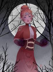 CE: Eithne the necromancy princess by wilczyca117