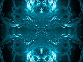 cool blue abstract by Jryen45