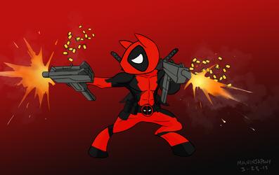 Deadpool pony by lookup4napkins