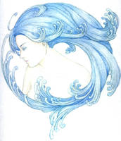 aquarius by HALLOYOYO