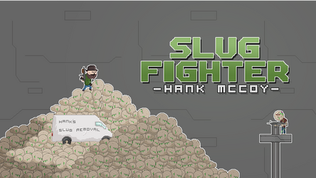 SlugFighter Poster/Menu thing by PixelRevolver