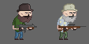 Hank looks like Dale from the Walking Dead. by PixelRevolver