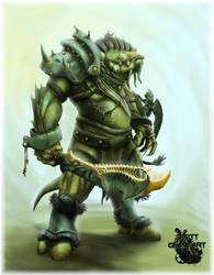 Dragonkin Warrior by sinslave