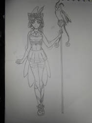 Eldarya Guardian by Tylia-diamond