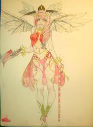 Guardian of Eldarya Comission by Tylia-diamond