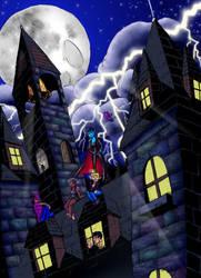 Vampire Hoteru Gang: Rooftop by ffnb