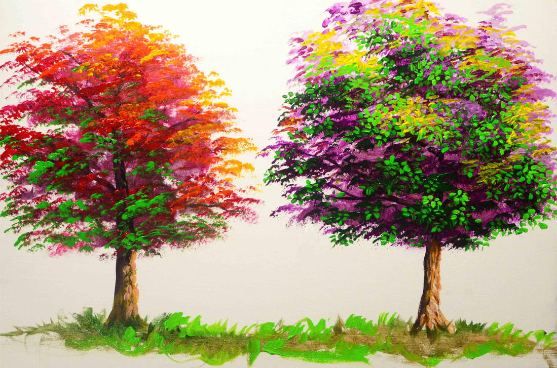 BASIC TREE TO DETAILED TREE by beejay-artlife12