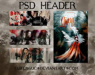 PSD HEADER +4 by Eliferguc
