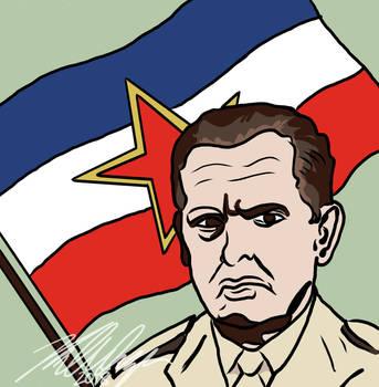 Josep Brotz Tito by ThePhilosophicalJew