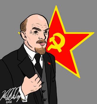 Vladimir Lenin by ThePhilosophicalJew