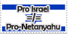 Pro Israel Not Pro Government by ThePhilosophicalJew