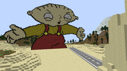 Stewie Griffin Minecraft Pixel Art By Daash99 On Deviantart