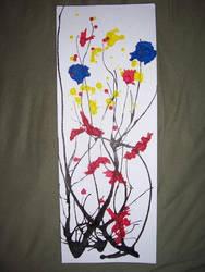Splatter art by Crymsunwolf